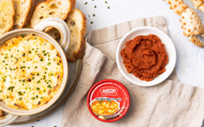 Red Curry Crab Dip